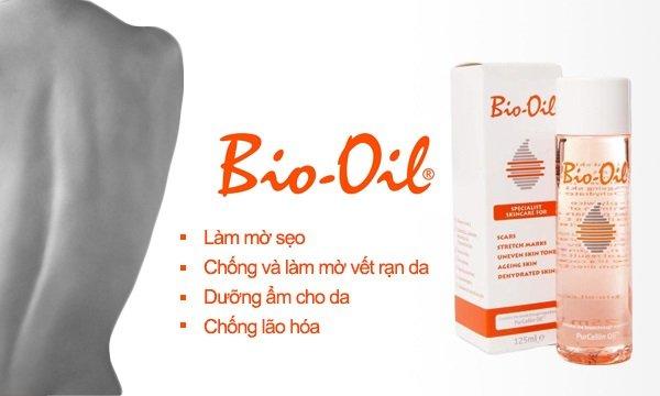 cách sử dụng bio oil cho da mặt