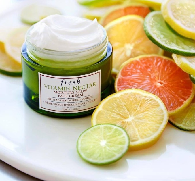 [REVIEW] Kem dưỡng Fresh Vitamin Nectar Moisture Glow Face Cream hot nhất hiện nay
